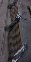 Фундаментный болт с загибом Тип 1, 2 ГОСТ 24379.1-80 (2012)